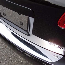 Nissan Rogue Chrome Rear Bumper Trim, 2008, 2009, 2010, 2011, 2012, 2013