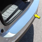 Chevrolet Equinox Chrome Rear Bumper Trim, 2018