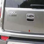 Kia Soul Chrome Rear Deck Trim, 2010 - 2013