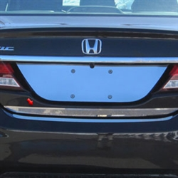 Honda Civic Sedan Chrome Trunk Lid Trim, 2012, 2013, 2014, 2015