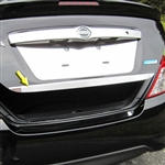 Nissan Versa Sedan Chrome Trunk Lid Trim, 2012, 2013, 2014, 2015, 2016, 2017, 2018