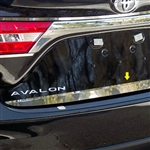 Toyota Avalon Chrome Rear Trunk Trim, 2013, 2014, 2015, 2016, 2017, 2018
