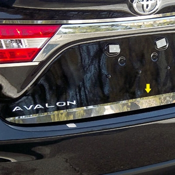 Toyota Avalon Chrome Rear Trunk Trim, 2013, 2014, 2015
