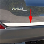 Toyota Rav4 Chrome Tailgate Trim, 2013, 2014, 2015