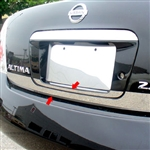Nissan Altima Chrome Rear Deck Trunk Trim, 2002, 2003, 2004, 2005, 2006