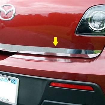 Mazda 3 Hatchback Chrome Trunk Lid Trim, 2004 - 2009