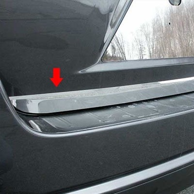 Toyota Highlander Chrome Rear Deck Trunk Trim 2008 2009