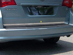 Volkswagen Routon Chrome Rear Hatch Trim, 2009, 2010, 2011, 2012