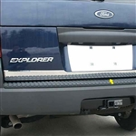 Ford Explorer Chrome Rear Deck Trim. 2002, 2003, 2004, 2005, 2006, 2007, 2008, 2009, 2010