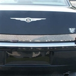 Chrysler 300 Chrome Rear Deck Trunk Trim, 2005, 2006, 2007, 2008, 2009, 2010