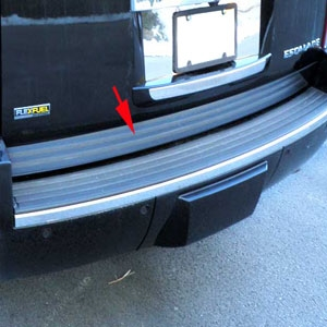 Cadillac Escalade Chrome Rear Deck Trim, 2007, 2008, 2009, 2010, 2011, 2012, 2013, 2014