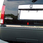 Dodge Nitro Chrome Rear Deck Trim, 2007-2011