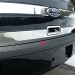 Ford Flex Chrome Rear Deck Trunk Trim, 2009, 2010, 2011, 2012, 2013, 2014, 2015