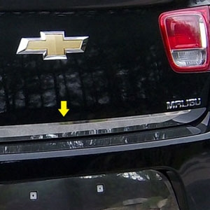 Chevrolet Malibu Chrome Rear Deck Trim, 2013, 2014, 2015