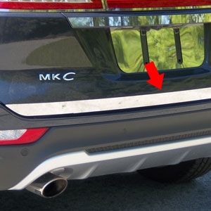 Lincoln MKC Chrome Tailgate Trim, 2015, 2016, 2017
