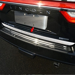 Lincoln Navigator Chrome Tailgate Trim, 2015, 2016, 2017