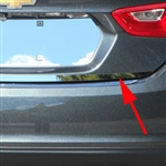 Chevrolet Malibu Chrome Rear Deck Trim, 2016, 2017