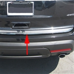 Ford Explorer Chrome Tailgate Trim, 2011, 2012, 2013, 2014, 2015, 2016, 2017