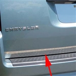 Dodge Grand Caravan Chrome Rear Deck Trim, 2008, 2009, 2010, 2011, 2012, 2013, 2014, 2015, 2016