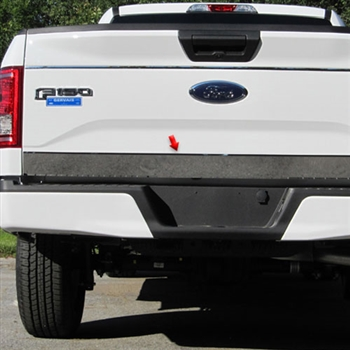 Ford F150 Chrome Tailgate Trim, 2015, 2016, 2017