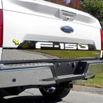 Ford F150 Chrome Lower Tailgate (full) Accent Trim, 2018