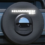 Hummer H2 Soft Spare Tire Cover with Reflective Logo, 2005, 2006, 2007, 2008, 2009
