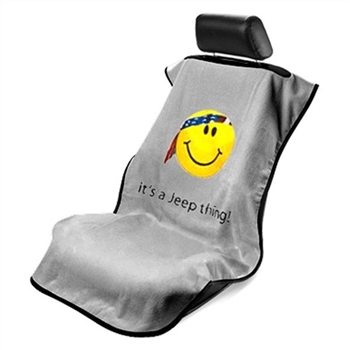 Jeep Smiley Face Towel Seat Protector