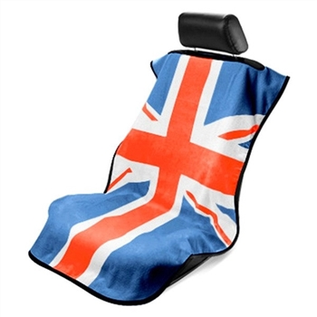 Mini Cooper Full Color British Flag Towel Seat Protector