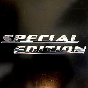 Dodge Chrome Special Edition Emblem