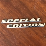 Porsche Chrome Special Edition Emblem