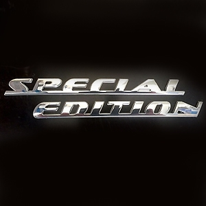 Toyota Chrome Special Edition Emblem Set