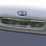 Kia Soul Chrome Upper Grille Accent, 2010 - 2011