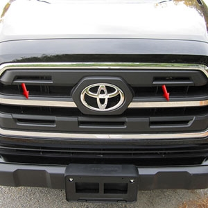 Toyota Tacoma Chrome Grille Accent Trim, 2016, 2017