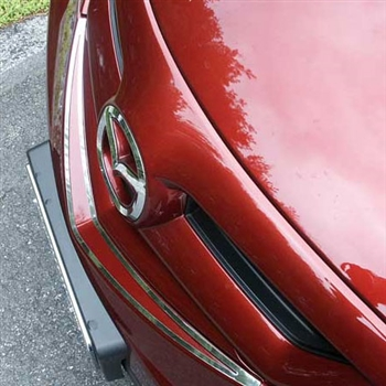 Mazda 3 Hatchback Chrome Front Bumper Trim, 2004 - 2009