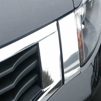 Honda Accord 2 Piece Chrome Grille Extension 2008 - 2012