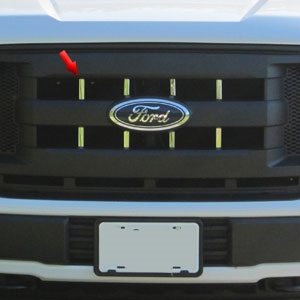 Ford F150 Chrome Grille Accent Trim, 2015, 2016, 2017