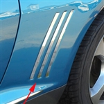 Chevrolet Camaro Chrome Side 'Shark' Trim, 2010, 2011, 2012, 2013, 2014, 2015