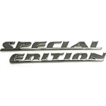 Chrome Special Edition Emblem Set