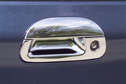 Ford F150 Chrome Tailgate Handle Cover, 1997, 1998, 1999, 2000, 2001, 2002, 2003