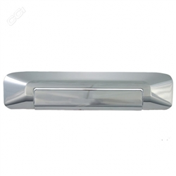 Toyota Tacoma Chrome Tailgate Handle Cover, 2005, 2006, 2007, 2008, 2009, 2010, 2011, 2012, 2013, 2014, 2015