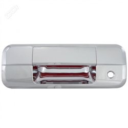 Toyota Tundra Chrome Tailgate Handle Cover, 2007, 2008, 2009, 2010, 2011, 2012, 2013