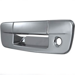 Dodge Ram Chrome Rear Tailgate Handle Cover, 2009, 2010, 2011, 2012, 2013, 2014, 2015, 2016