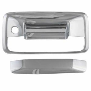 GMC Sierra Chrome Tailgate Handle Cover, 2014, 2015, 2016, 2017