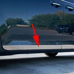 Toyota Sienna Chrome Rocker Panel Trim, 2011, 2012, 2013, 2014, 2015, 2016, 2017