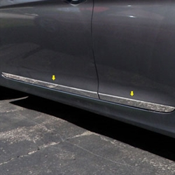 Hyundai Sonata Chrome Rocker Panel Set, 2011, 2012, 2013, 2014
