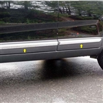 Kia Sorento Chrome Rocker Panel Trim, 2011, 2012, 2013, 2014