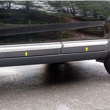 Kia Sorento Chrome Rocker Panel Trim, 2011, 2012, 2013, 2014, 2015
