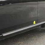 Nissan Versa Sedan Chrome Rocker Panel Trim (below door), 2012, 2013, 2014, 2015, 2016, 2017