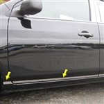 Nissan Versa Sedan Chrome Rocker Panel Trim (lower door), 2012, 2013, 2014, 2015, 2016, 2017