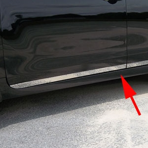 Nissan Altima Rocker Panel Trim (lower door), 2013, 2014, 2015